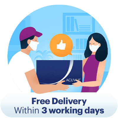 Free Delivery Within 3 working days