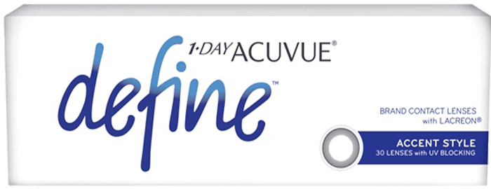 1-DAY ACUVUE® DEFINE® Accent Style