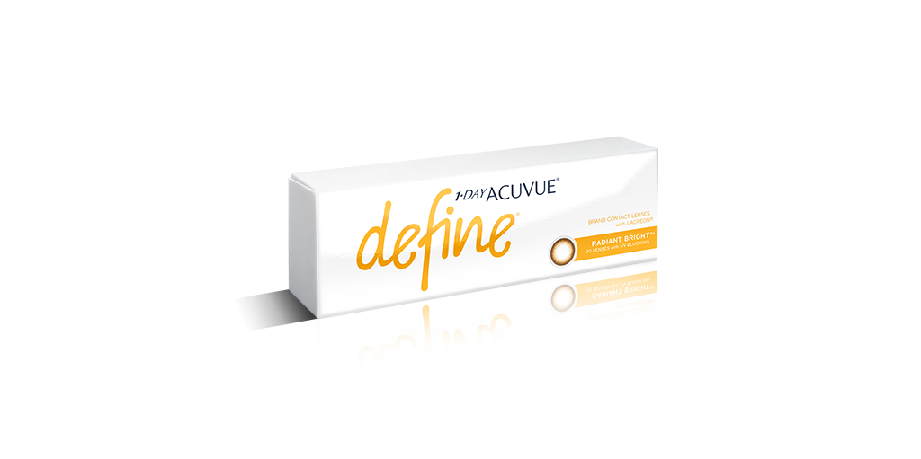 1-DAY ACUVUE® DEFINE® Radiant Bright™