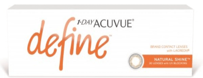 1-DAY ACUVUE® DEFINE® Natural Shine™