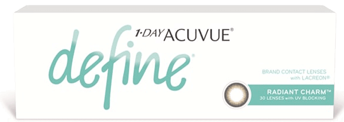 1-DAY ACUVUE® DEFINE® Radiant Charm™