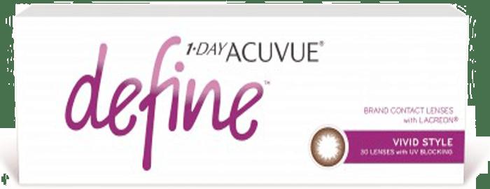 1-DAY ACUVUE® DEFINE® Vivid Style