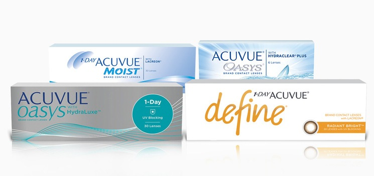 ACUVUE ® Brand products