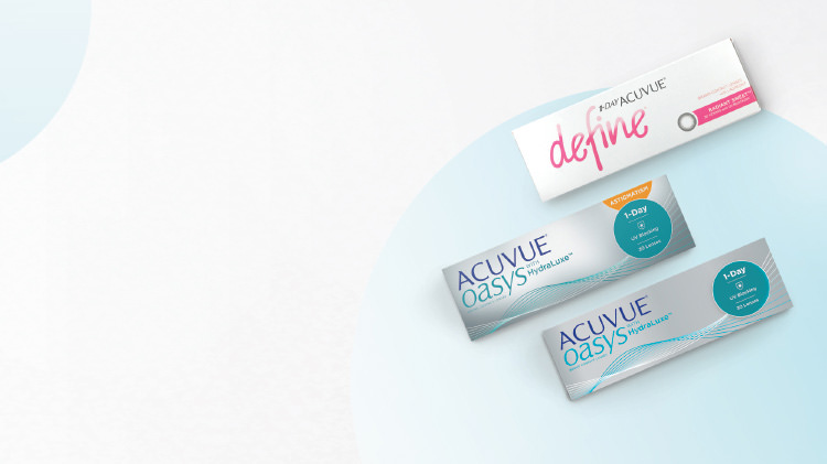 WHICH ACUVUE® BEST SUITS YOU?
